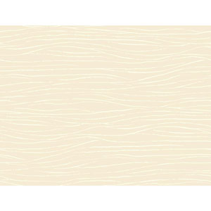 Ronald Redding Sculptured Surfaces Off White and Cream Lagoon Wallpaper