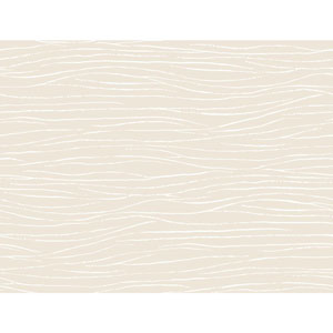 Ronald Redding Sculptured Surfaces White and Off White Lagoon Wallpaper