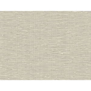 Ronald Redding Sculptured Surfaces Silver and Cream Terrian Wallpaper