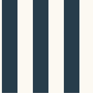 Inspired by Color Blue and White 3-Inch Every Room Needs a Stripe Wallpaper