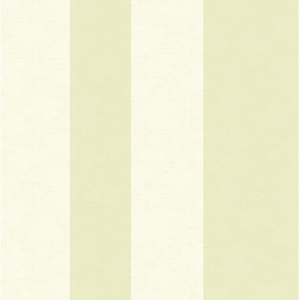 Inspired by Color Green and White Wide Stripe Wallpaper