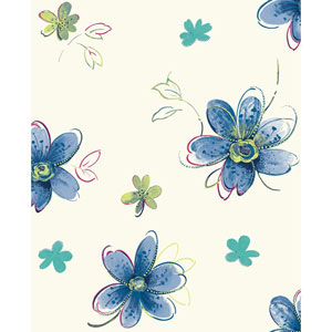 Brothers and Sisters V Bohemian Floral Wallpaper