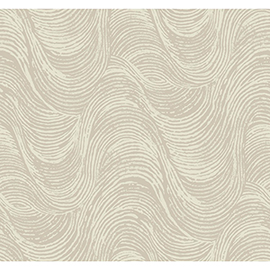 Masterworks Pewter Waves Wallpaper