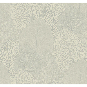 Masterworks Taupe Botanical Wallpaper