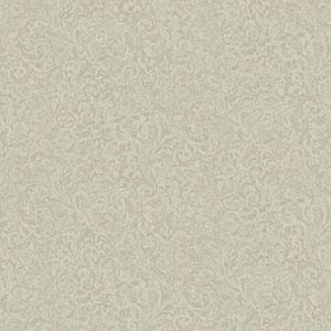 Vintage Luxe Imprint Scroll Wallpaper