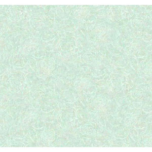 Vintage Luxe Blue and White Rose Texture Wallpaper