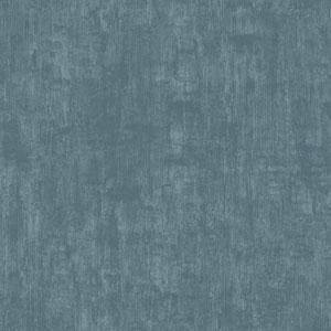 Silver Leaf II Odyssey Teal Wallpaper