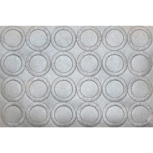 Candice Olsen Dream On Embroidered Circles Wallpaper
