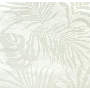 Candice Olson Tranquil White Palm Wallpaper
