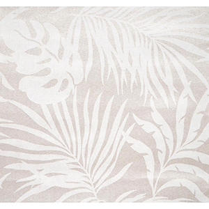 Candice Olson Tranquil Gray Grasscloth Palm Wallpaper