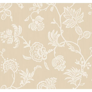 Sculptured Surfaces II Tan and Off White Madeline Wallpaper