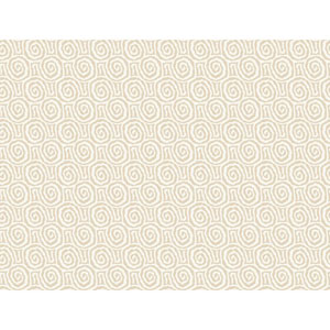 Sculptured Surfaces II Light Tan and Off White Charma Wallpaper