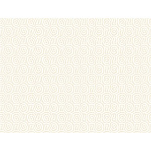 Sculptured Surfaces II White and Cream Charma Wallpaper