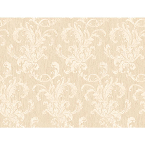 Inspired by Color Cream and Beige Metallic Wallpaper