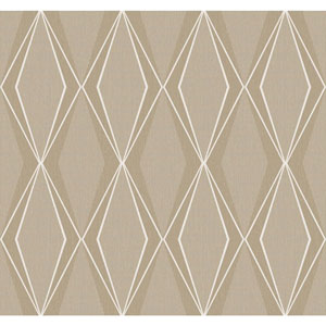York Wallcoverings Stacy Garcia Paper Muse Aqua And Beige