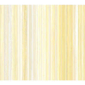 Stacy Garcia Paper Muse White and Yellow Watercolor Strie Wallpaper