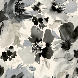 Stacy Garcia Paper Muse White and Black Aquarella Wallpaper