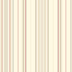 Waverly Stripes Red Harmony Stripe Wallpaper