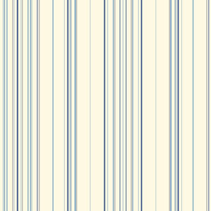 Waverly Stripes Blue Harmony Stripe Wallpaper