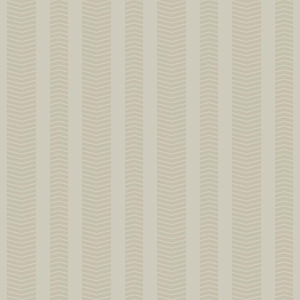 Ashford Whites Taupe Stripe Wallpaper