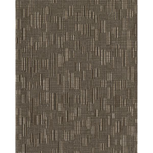 Design Digest Brown Mosaic Weave Wallpaper