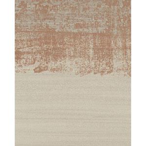 Design Digest Beige Painted Horizon Wallpaper
