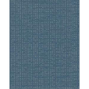Design Digest Navy Spot Check Wallpaper