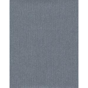 Design Digest Navy Purl One Wallpaper