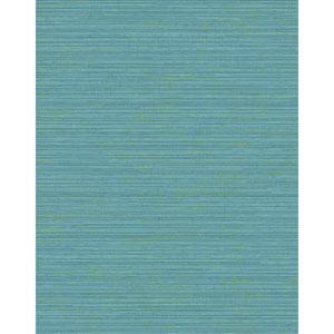 Design Digest Blue Fine Line Wallpaper