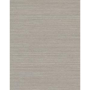 Design Digest Taupe Fine Line Wallpaper