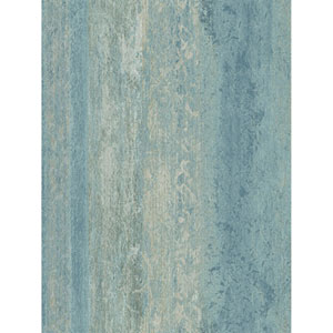 Ronald Redding Designs Stripes Resource Mojave Blue Wallpaper