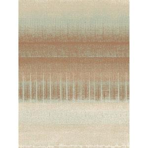 Ronald Redding Designs Stripes Resource Mesa Stripe Orange Wallpaper