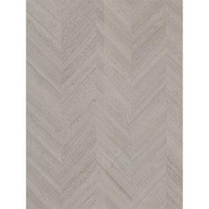 Ronald Redding Designs Stripes Resource Wood Veneer Black Wallpaper