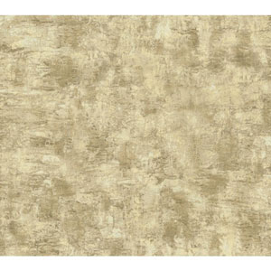 Texture Portfolio Ecru and Tan Organic Texture Wallpaper