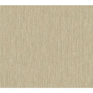 Texture Portfolio Beige and Tan Raised Stria Texture Wallpaper