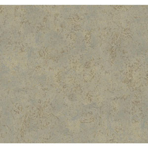 Texture Portfolio Silver and Tan Mylar Crackle Faux Wallpaper