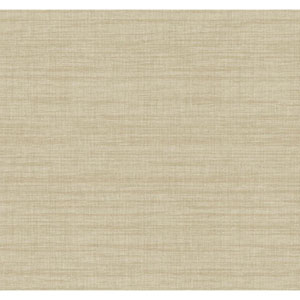 Texture Portfolio Gold and Grey Royal Linen Wallpaper