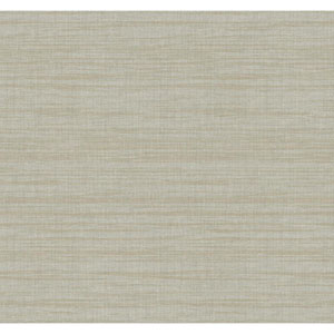 Texture Portfolio Silver and Sand Royal Linen Wallpaper