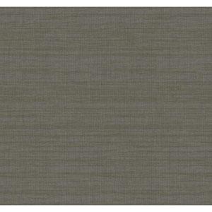 Texture Portfolio Gold and Grey Royal Linen Wallpaper