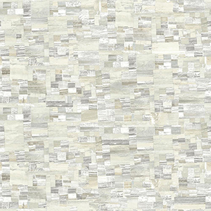 Modern Art Neutral Mixed Media Wallpaper