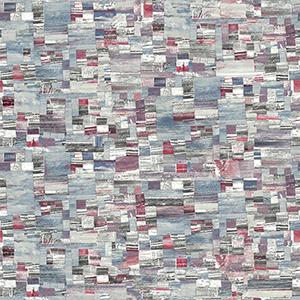 Modern Art Red Mixed Media Wallpaper