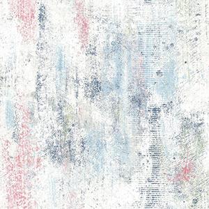 Modern Art Blue Graffiti Melt Wallpaper