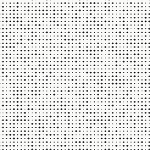 Modern Art Black Dotted Spark Wallpaper