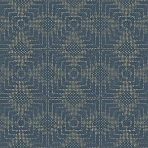 Aviva Stanoff Navy Tribe Wallpaper