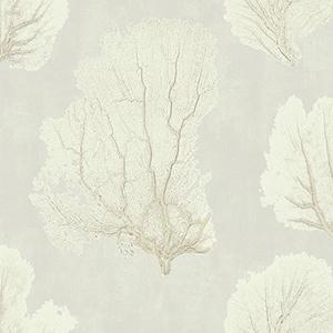 Aviva Stanoff Tan Coral Couture Wallpaper