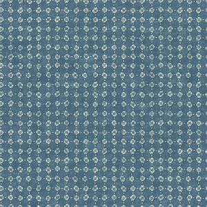 Patina Vie Blue Wallpaper