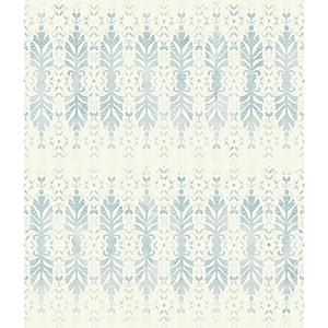 Patina Vie Chambray Blue Wallpaper