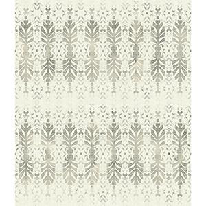 Patina Vie Gray Wallpaper