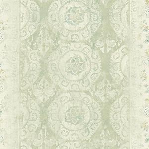 Patina Vie Sage Wallpaper