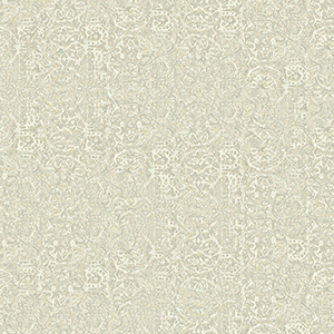 Patina Vie Gray and Beige Wallpaper